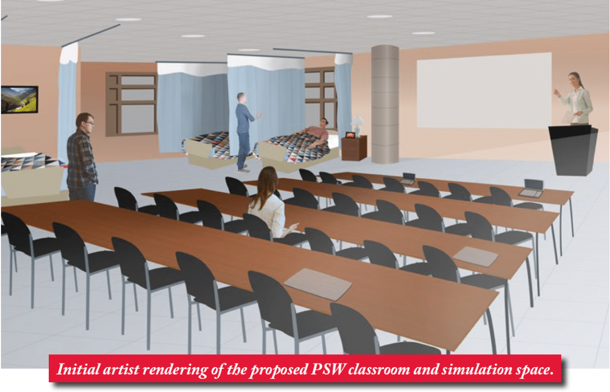 Ground-breaking health-care classroom and learning environment planned for Perley Rideau in 2017