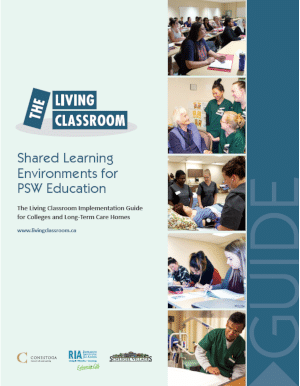 Living Classroom Implementation Guide cover