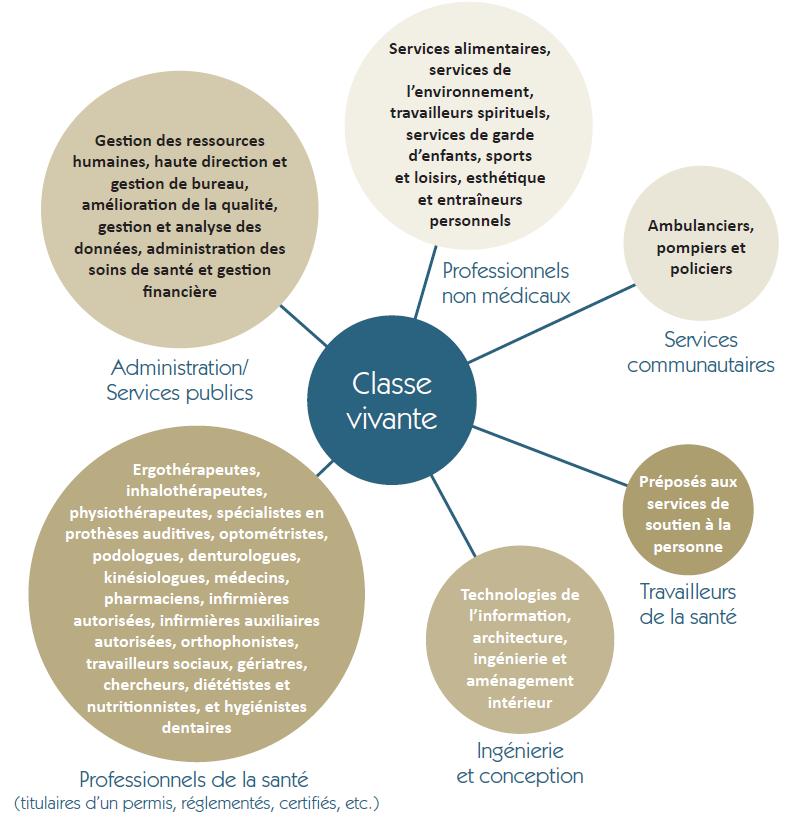 Figure 4 : Élargissement à d'autres programmes de classe vivante