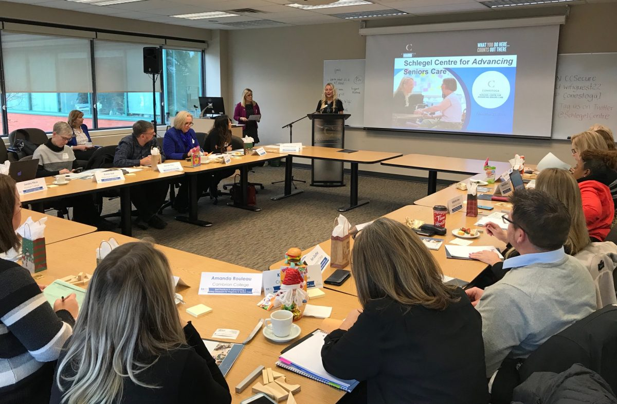 Conestoga workshop shares best practices for implementation of Living Classrooms